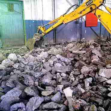 Заливка бетонного пола (Метизный завод)
