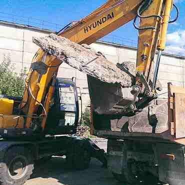Демонтаж промышленного здания