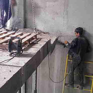 Демонтаж бетонной лестницы (ул. Дзержинского
