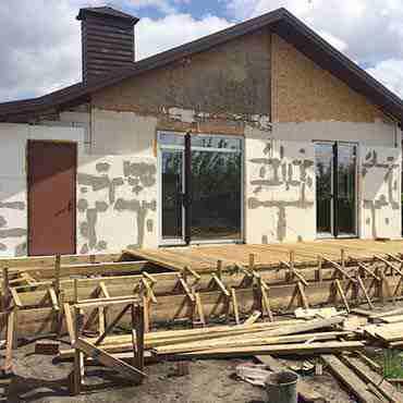 Реконструкция дома (Золотые Ключи)