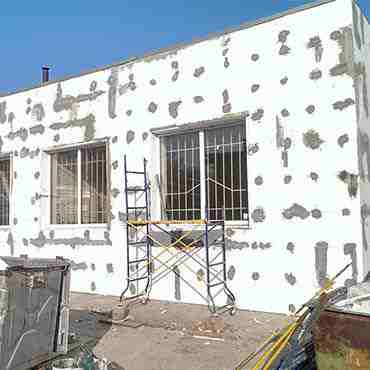 Ремонт и утепление фасада (пр. Петровского)