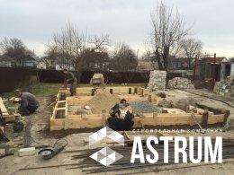 Зимний домик - строительство