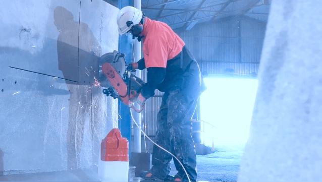 резка бетона швонорезчиком