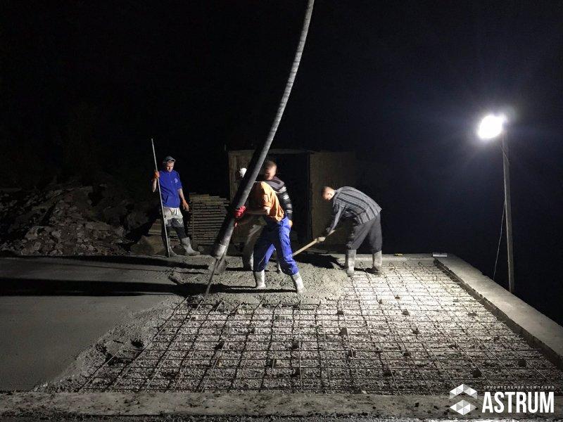 Заливка бетона ночью союз бетон цена